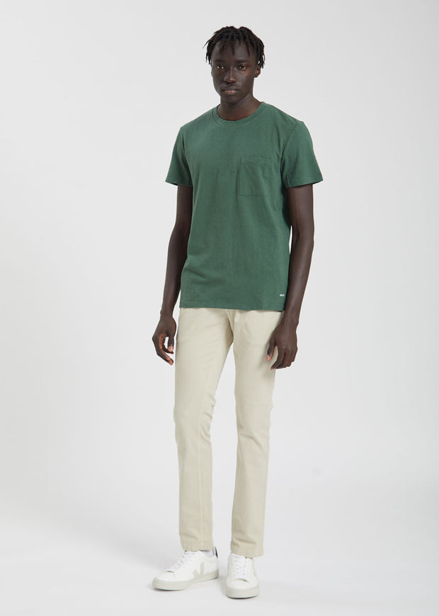 Barry Pocket Tee Light Pine