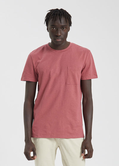 Barry Pocket Tee Red Slate