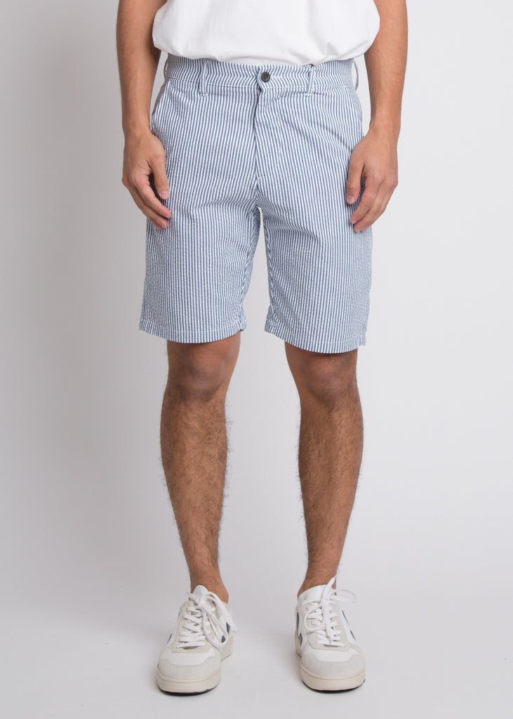 Crown Shorts Blue Stripe