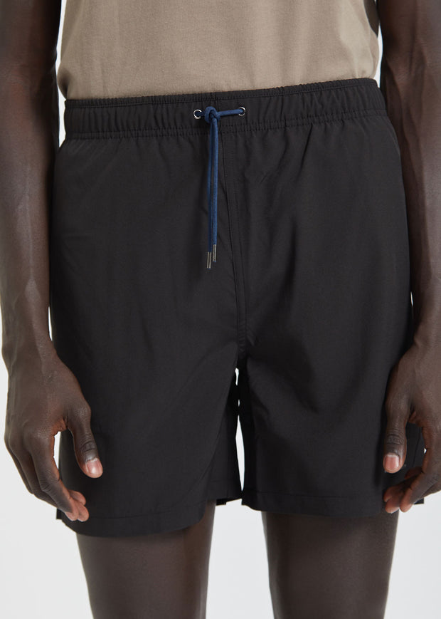 Jules Nylon Shorts Black