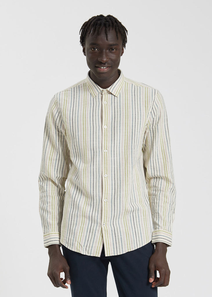 Morgan Classic Shirt Multi Stripe