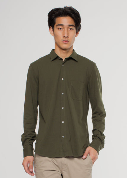Sean Jersey Shirt Army