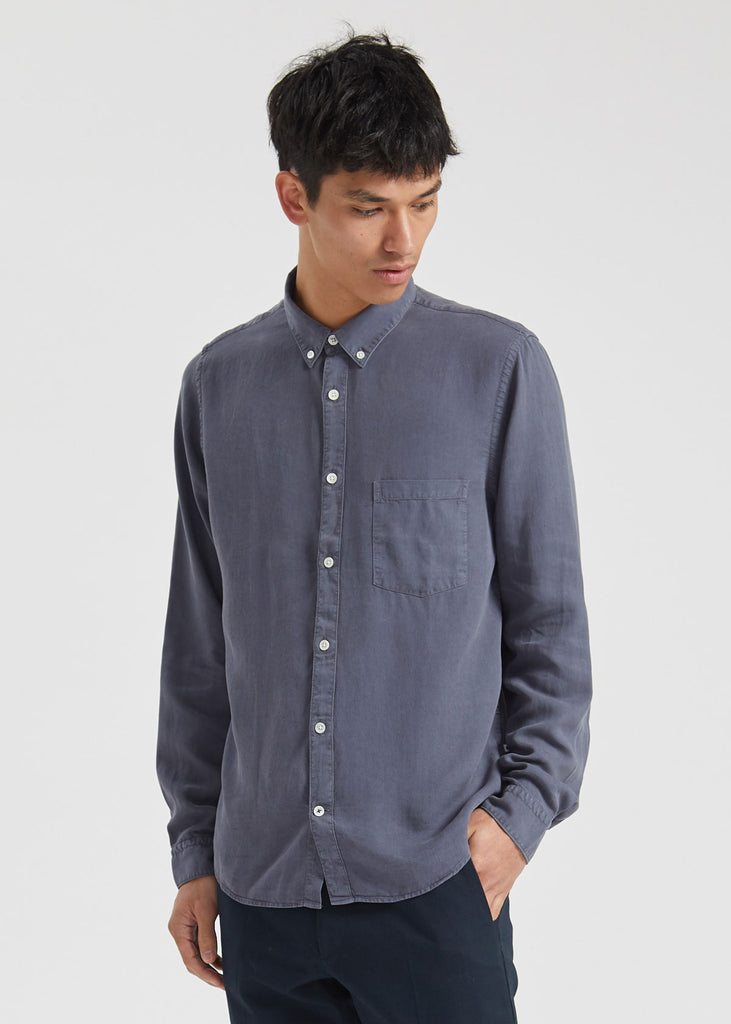 Sixten Shirt Dark Grey