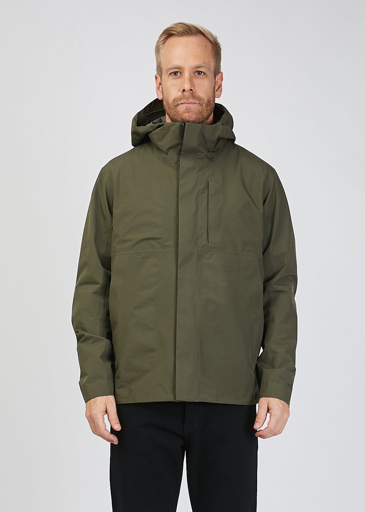 Fyn Shell Gore Tex Jacket Ivy Green