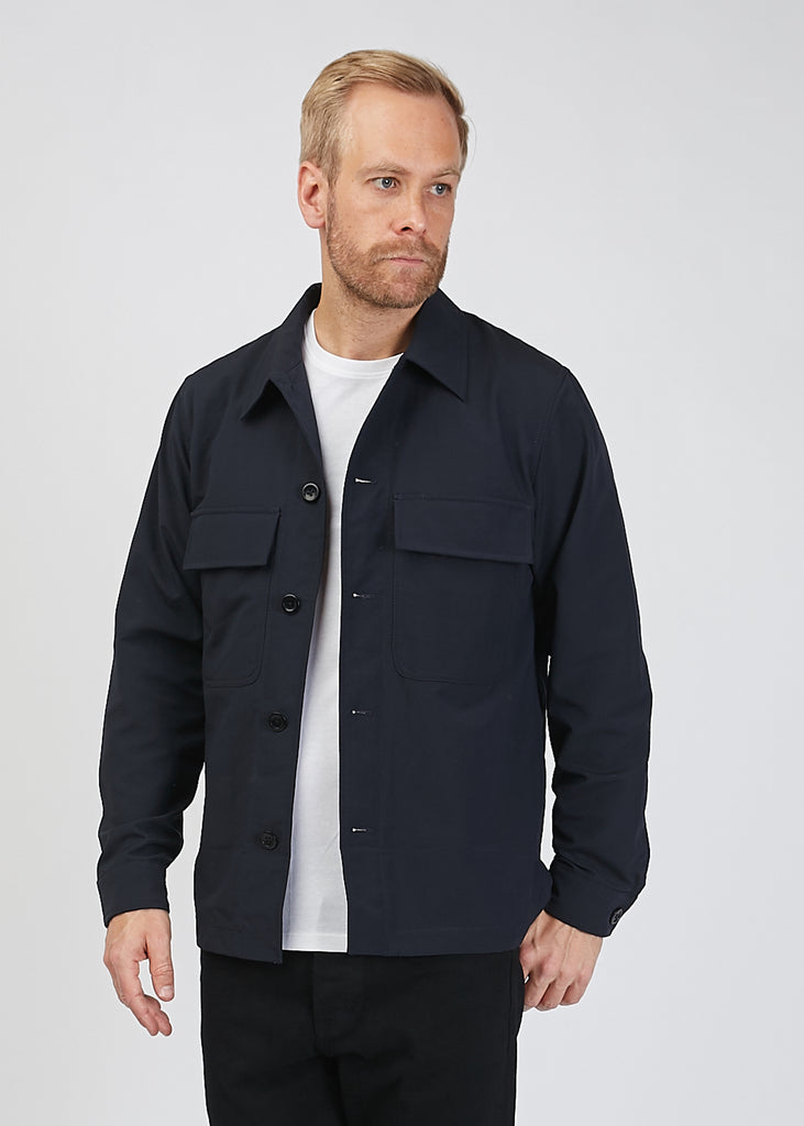 Kyle Travel Jacket Dark Navy