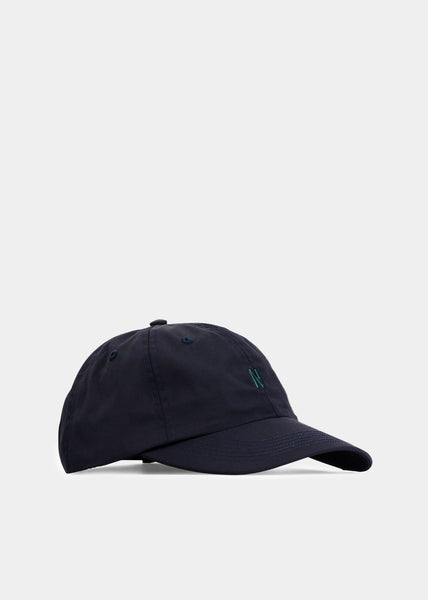 Nylon Oxford Sports Cap Dark Navy