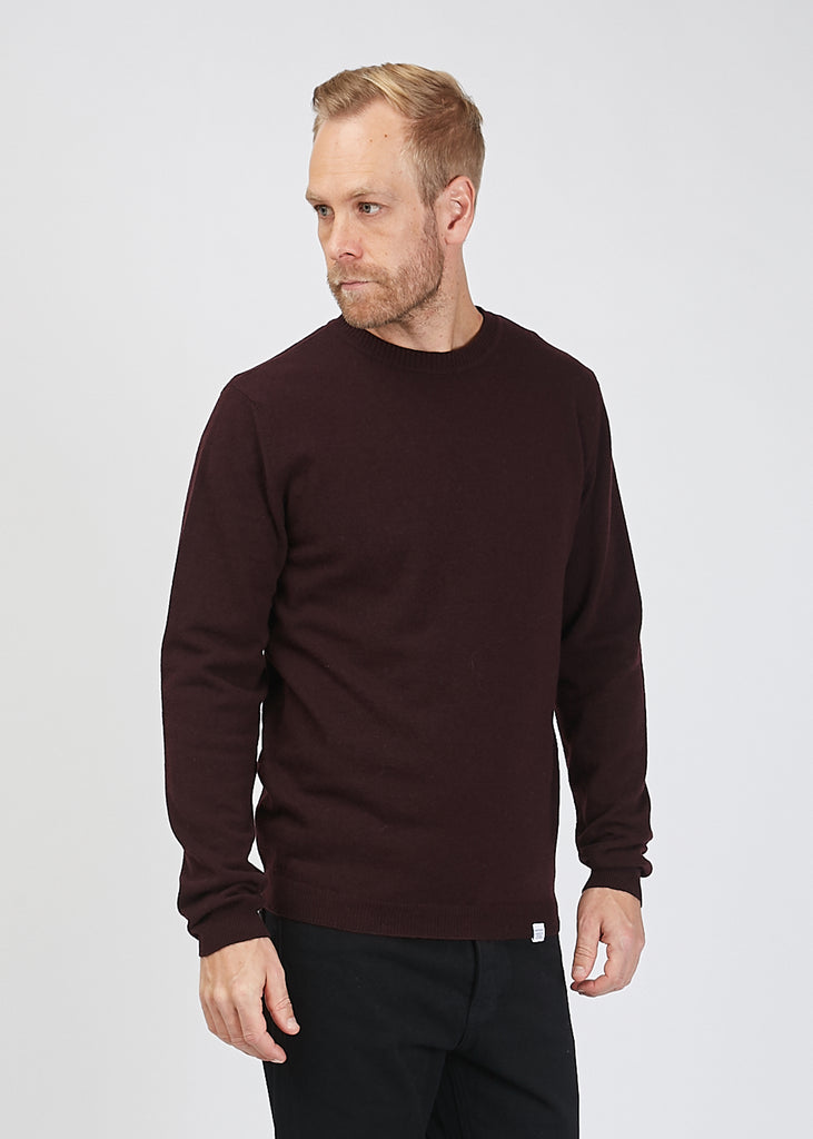 Sigfred Light Wool Jumper Ritteri Purple