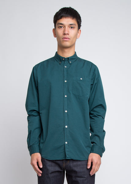 Anton Twill Shirt Quartz Green