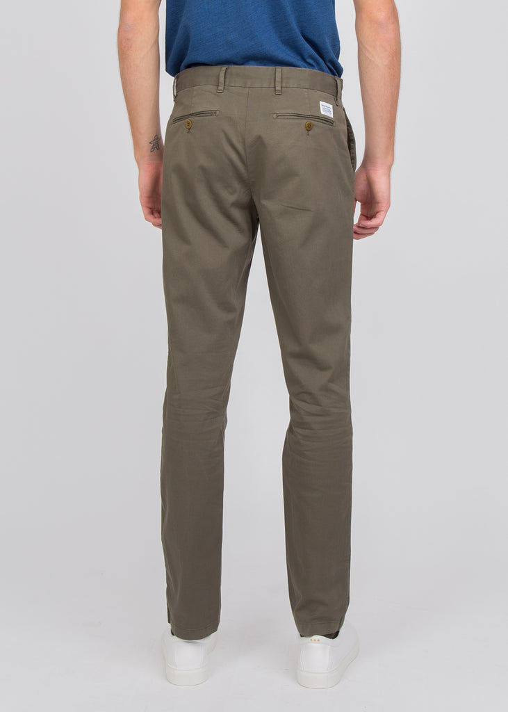 Aros Slim Light Stretch Pants Ivy Green