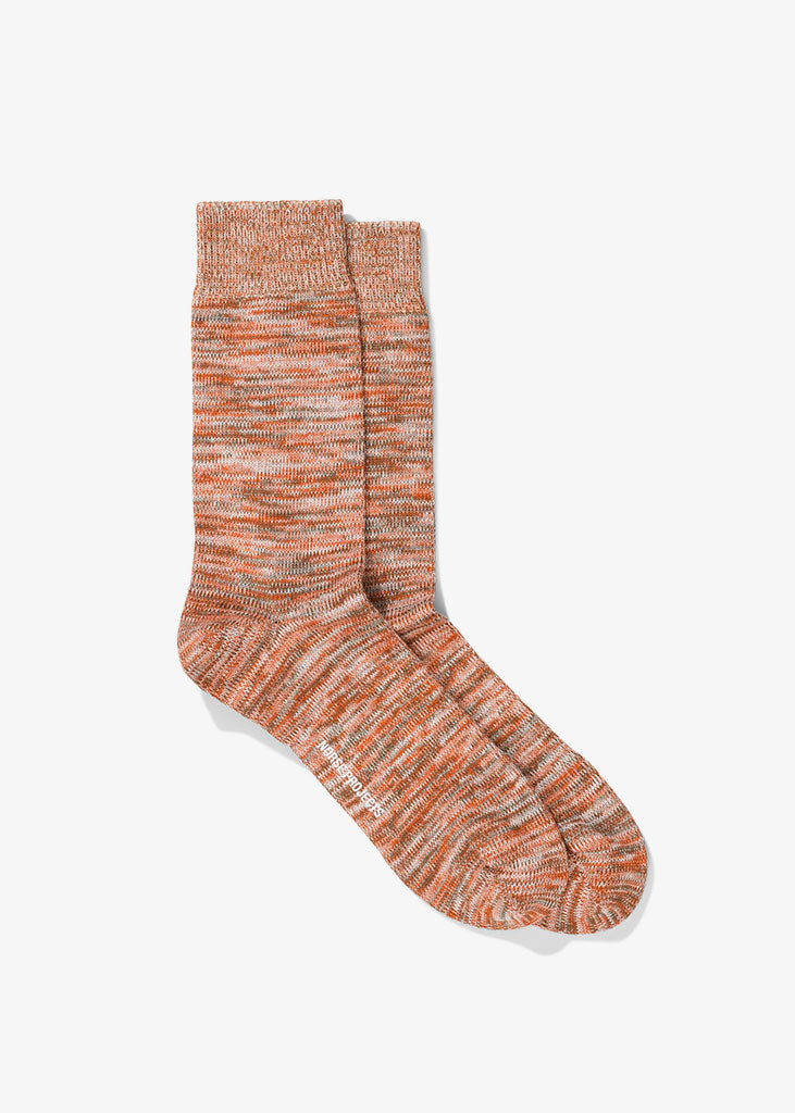 Bjarki Blend Socks Oxide Orange