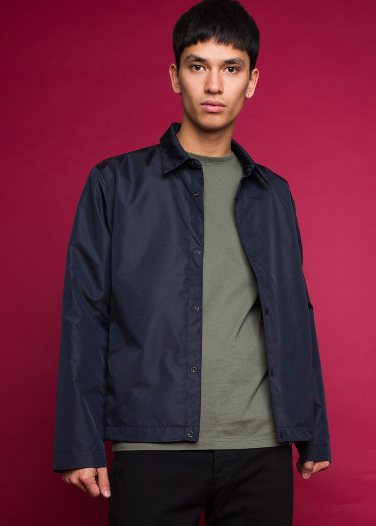 Svend Nylon Oxford Jacket Dark Navy