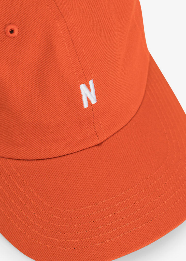 Twill Sports Cap Oxide Orange