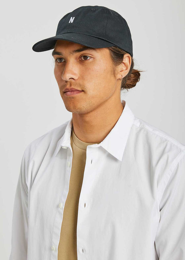 Twill Sports Cap Black