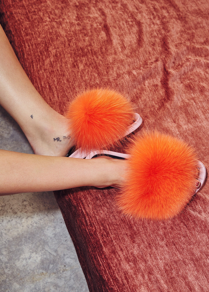 Foxy Freja Shoes Orange