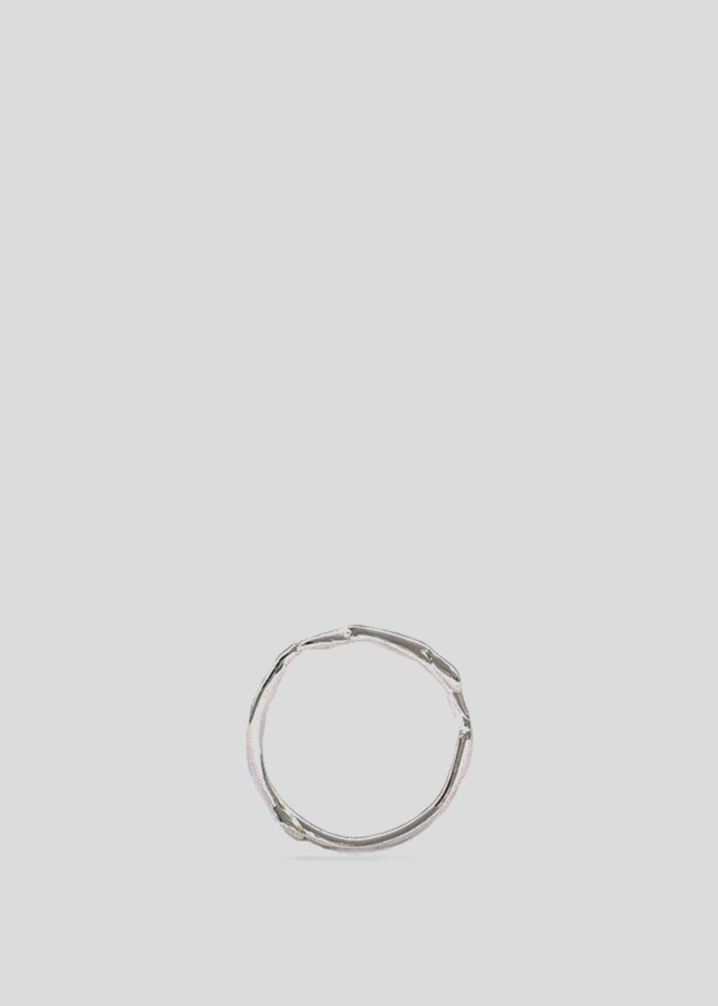 Organic Band Ring Sterling Silver