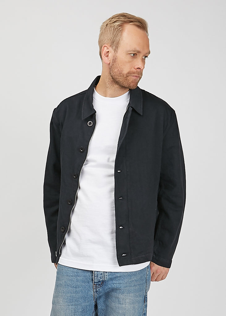 Buta Blouson Jacket Washed Black