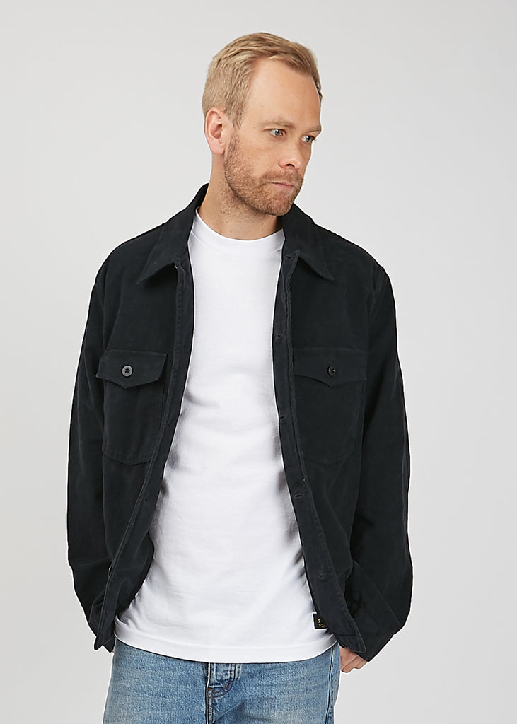 Evening Coach Jacket Blueback Moleskin