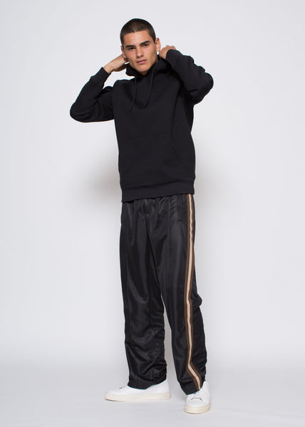 Single Hood Jumper Black Scuba