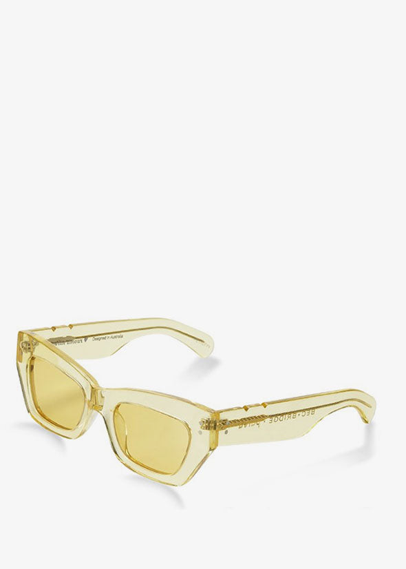 Bec & Bridge + Pared Petite Amour Sunglasses Yellow