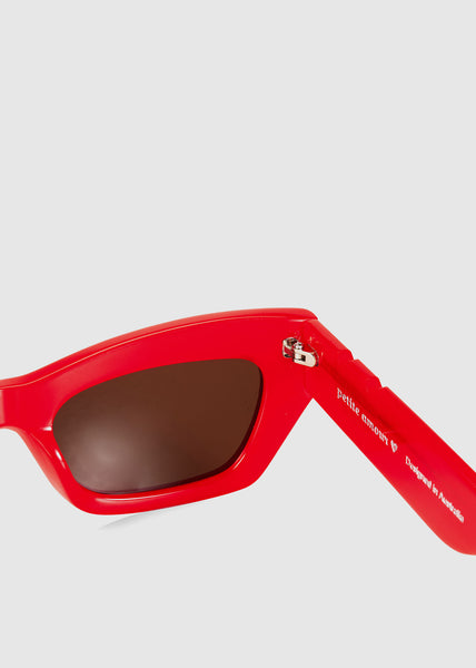 Bec & Bridge + Pared Petite Amour Sunglasses Red