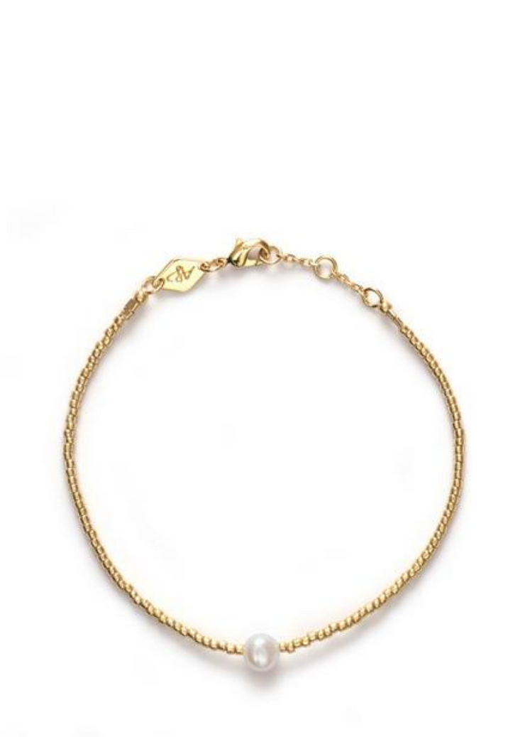 Pearly Bracelet Gold
