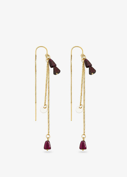 Layered Divinity Earrings Gold