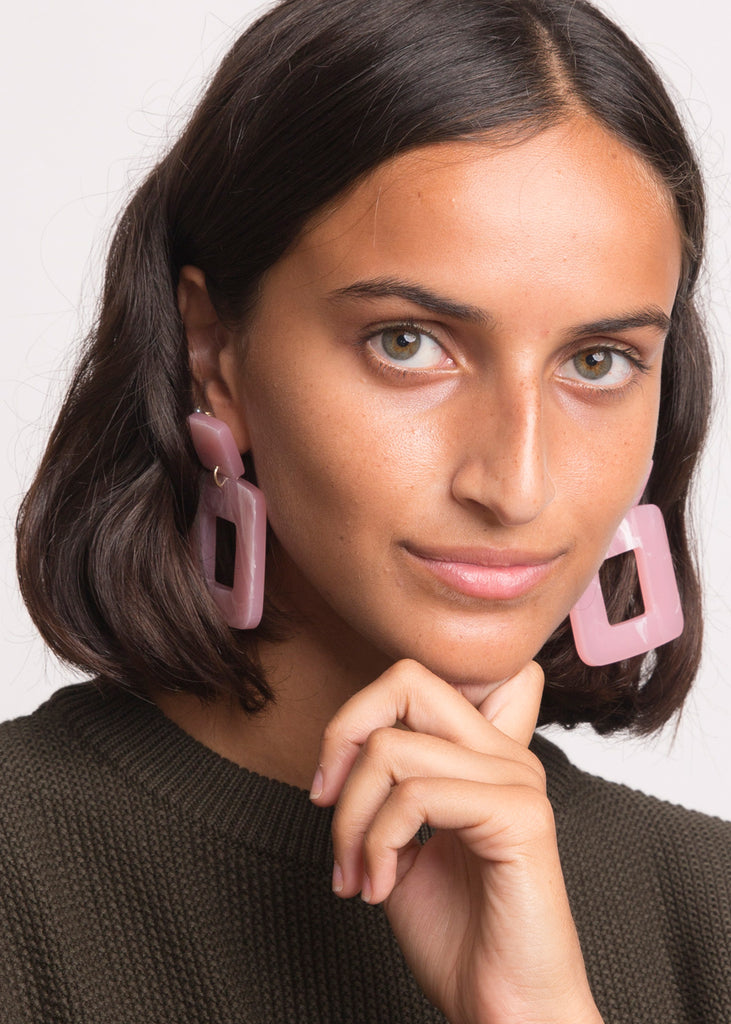 Lois Earrings Pink