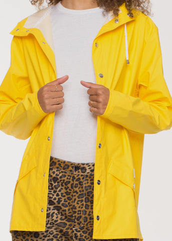 Jacket Raincoat Yellow