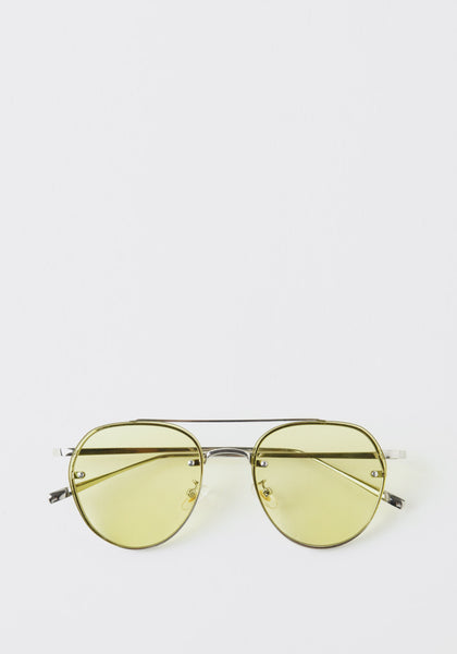 Aviator Sunglasses Yellow