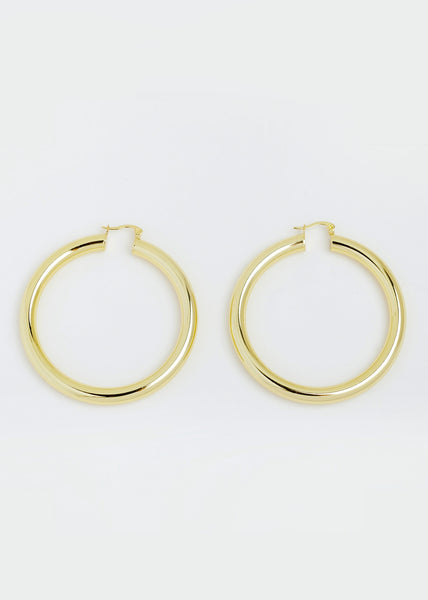 Brooklyn Earrings Yellow Gold