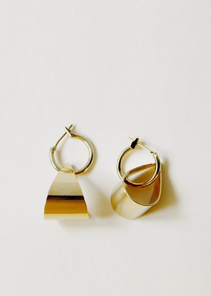 Hoop & Loop Earrings 18ct Gold Filled