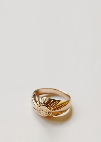 Signet Ring 18ct Gold