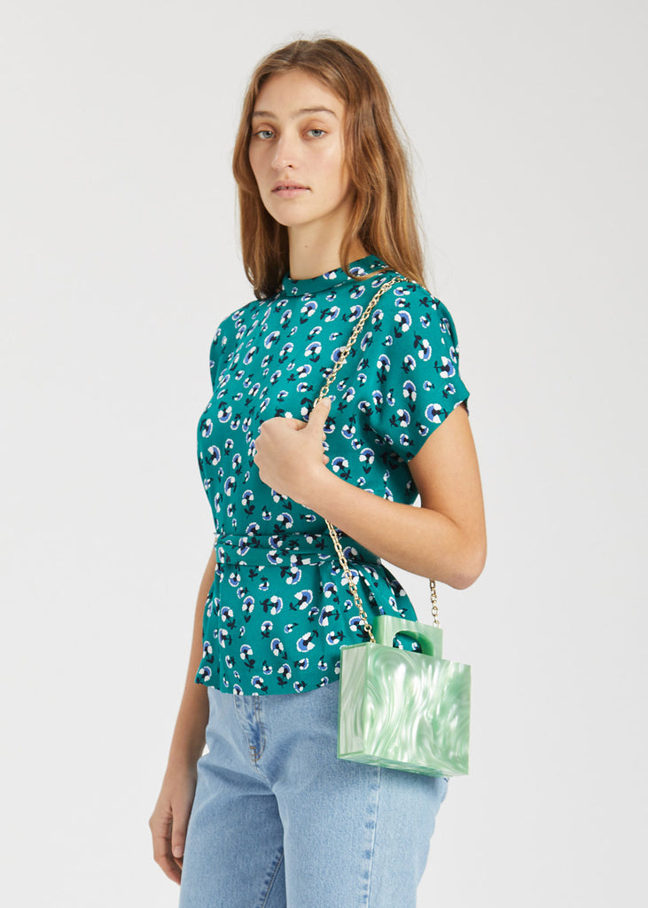 Alexa Bag Green