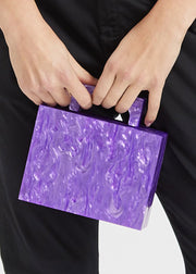 Alexa Bag Purple Pearl