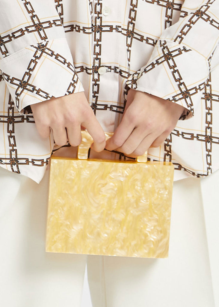 Alexa Bag Yellow Pearl