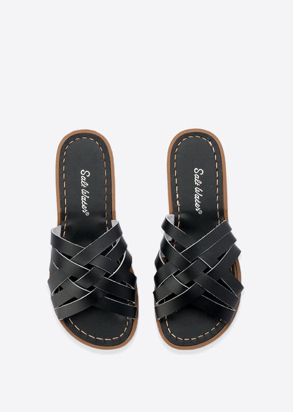 Retro Slides Black