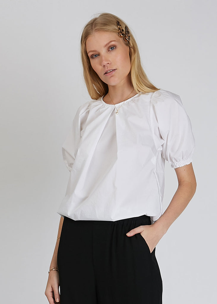 Nahua Cotton Blouse White