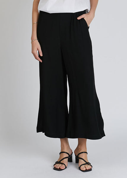 Sigrid Twill Pants Black