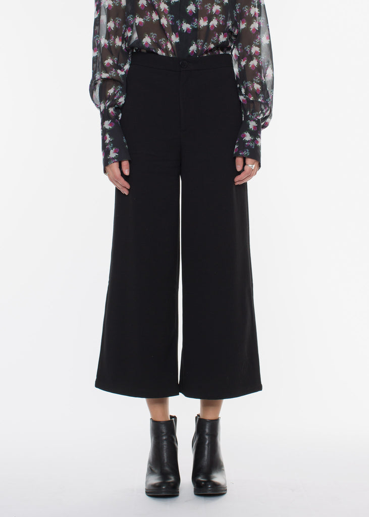 Dama Crepe Pants Black