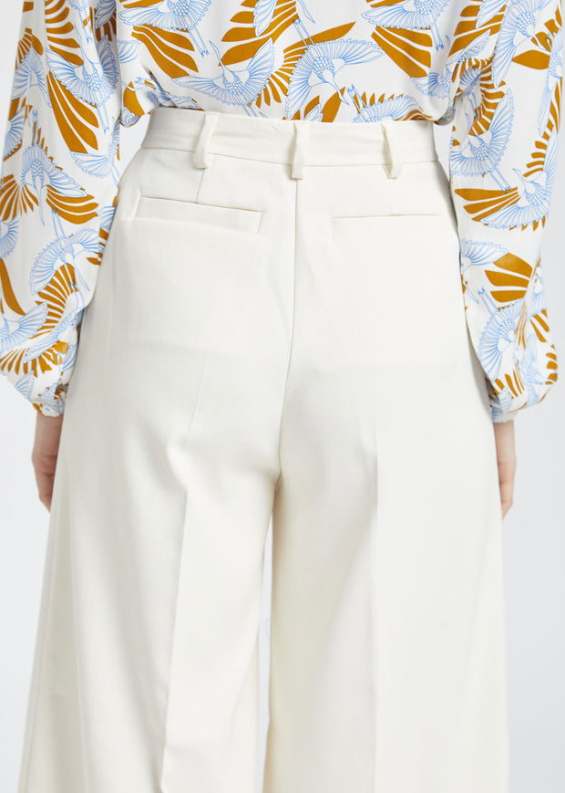 Gizella Trousers Puffy White