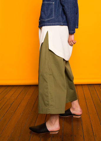Karla Long Pants Military