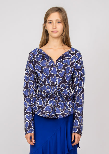 Madiana Blouse Dark Navy