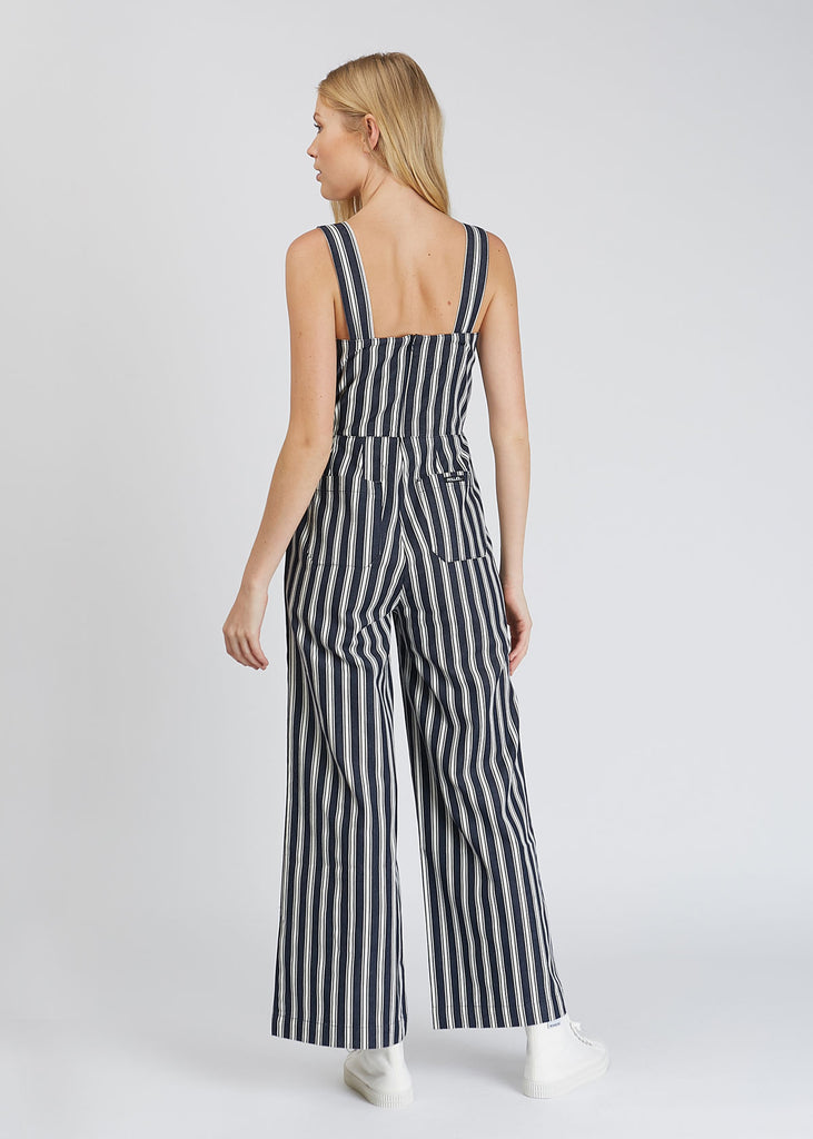 a4f72d1785fd Sailor Jumpsuit Salty Stripe Navy White
