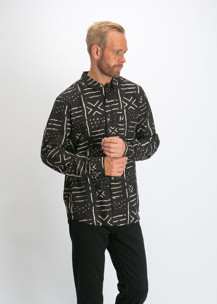 d56926c32ca8 Bon Yindi Long Sleeve Shirt Black Bon Yindi Long Sleeve Shirt Black