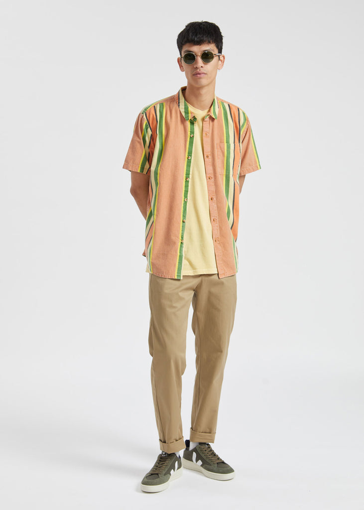 Bon Fast Time Shirt Orange Stripe