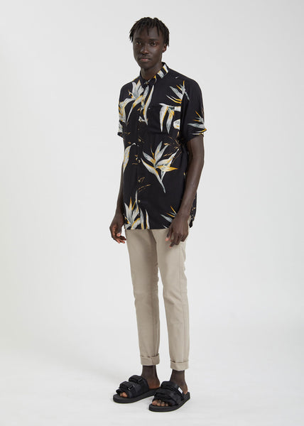 Bon Surfers Paradise Shirt Midnight Paradise