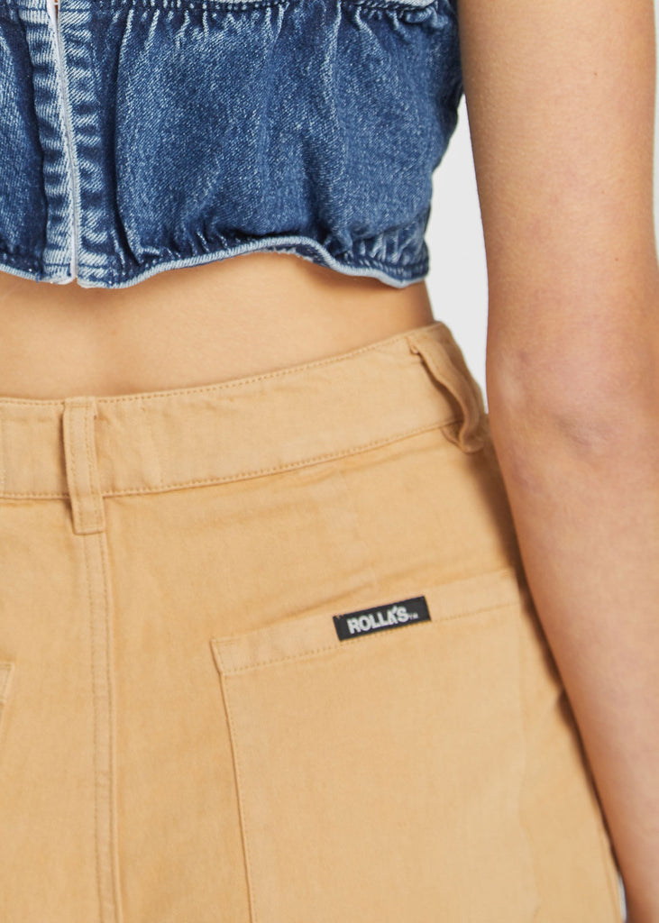 Old Mate Linen Pant Gold