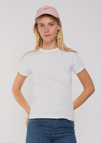 Recycled Miller Tee White