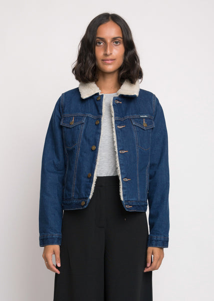 Sherpa Jacket Marine Blues