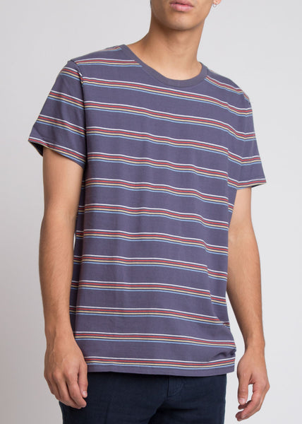 Rollas Stripe Tee Multi